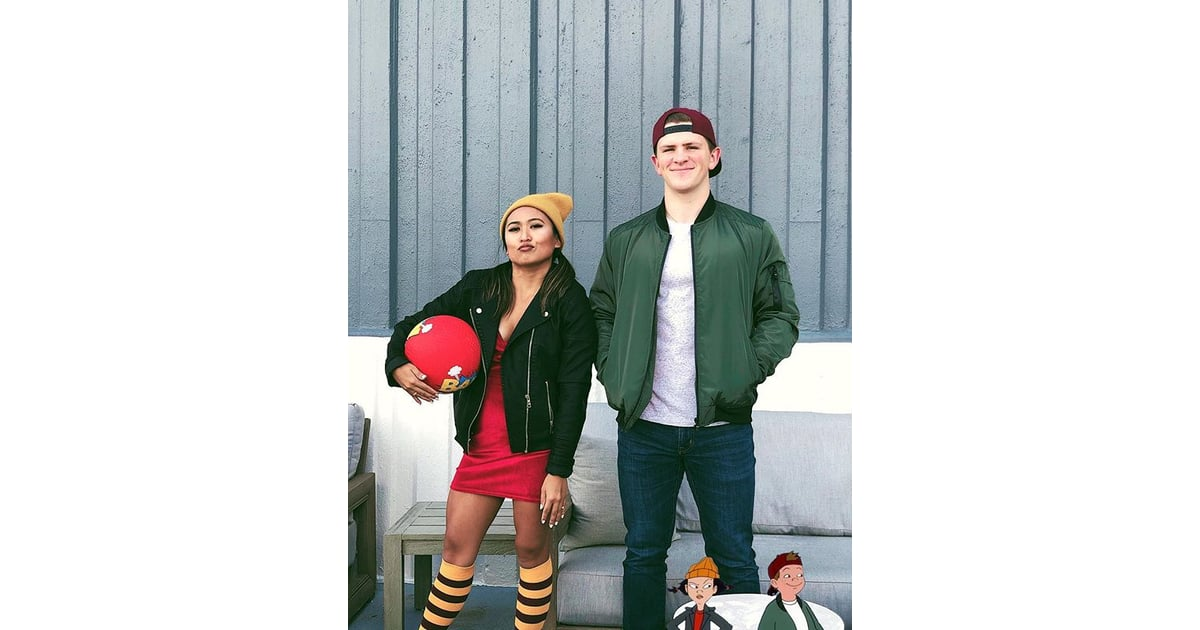 T.J. and Spinelli From Recess: The Costume | '90s Halloween Couples  Costumes | POPSUGAR Love & Sex Photo 27