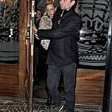 Kate Hudson and Matt Bellamy had dinner together in London.