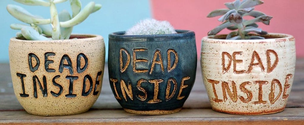 These Planters From Etsy Are the Perfect Halloween Decor