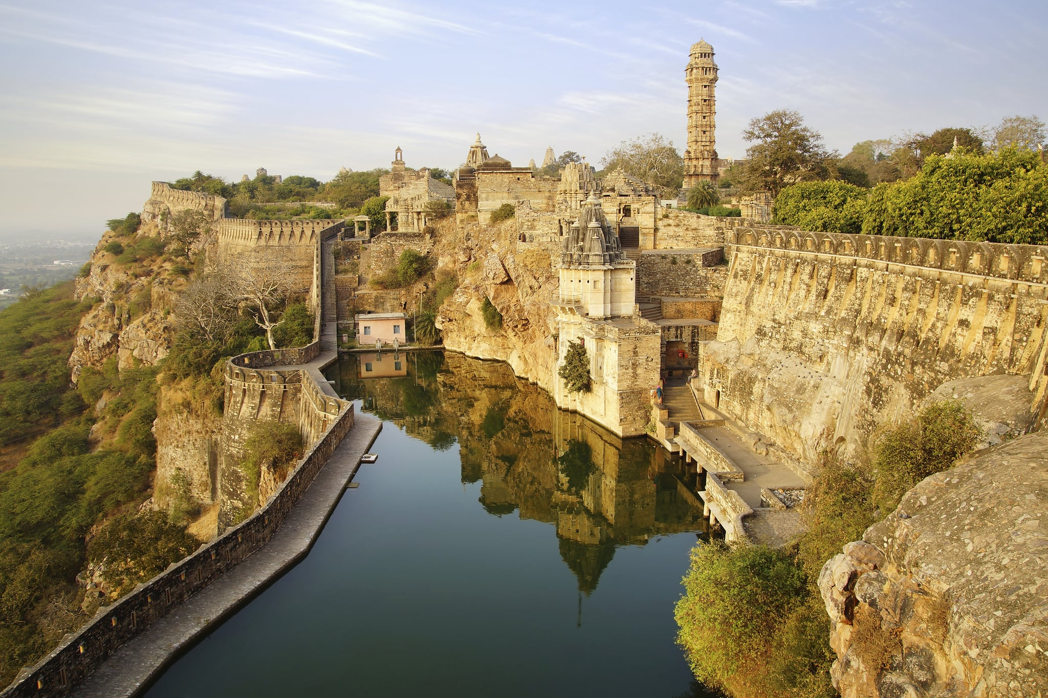 Chittorgarh Fort, India