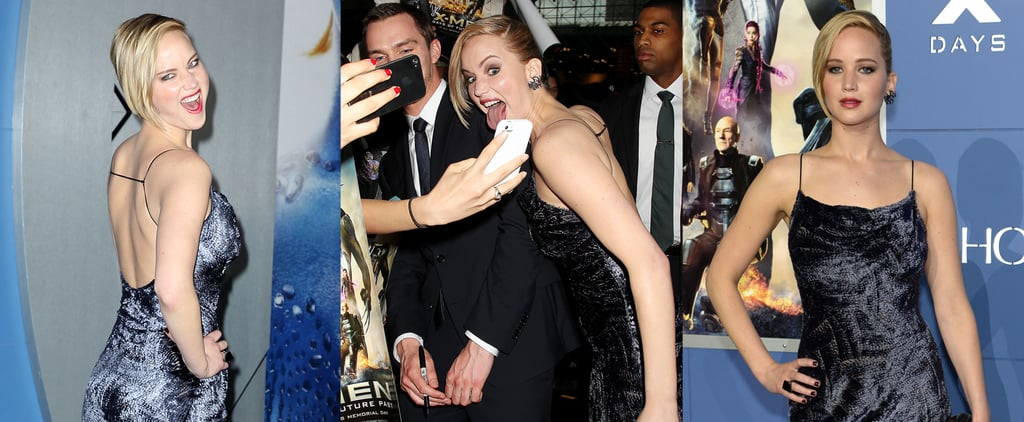 Jennifer Lawrence Is Still the Best at Red Carpets