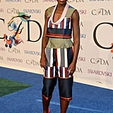 Lupita Nyong'o arrived in style.
