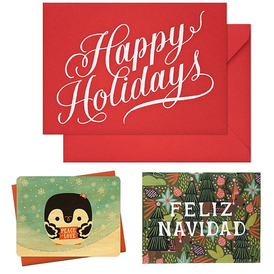 From playful greetings to personalized picks to modern, stylish options, the POPSUGAR Home editors have rounded up the best holiday cards from their favorite stationery spots.