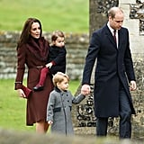 The British Royal Family Gets Into the Holiday Spirit During Christmas Day Services!