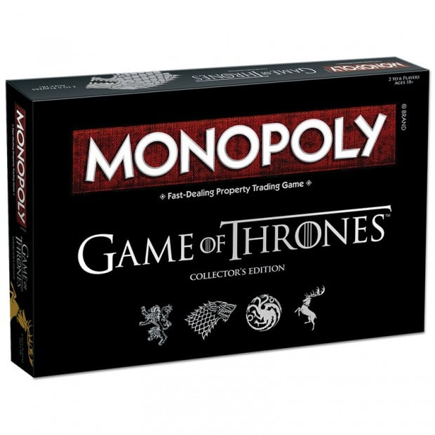 Game of Thrones Monopoly ($60)