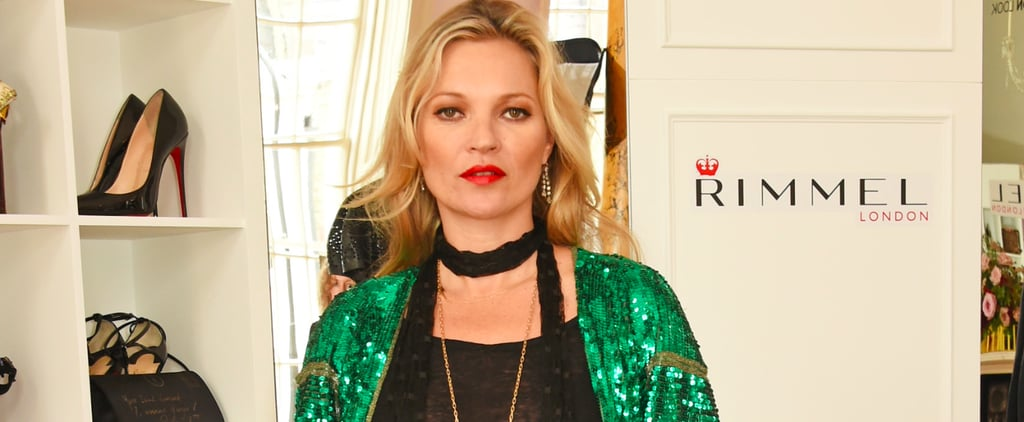 Good News: Kate Moss Just Created Your New Go-To Lipstick Shades