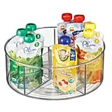 MDesign Divided Lazy Susan Storage