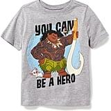 "Old Navy Disney Moana ""You Can Be A Hero"" Tee"
