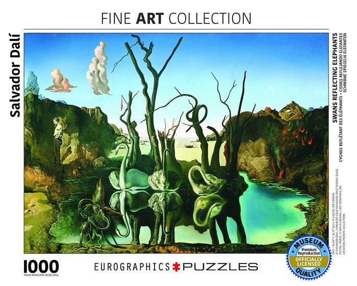 Eurographics Jigsaw Puzzle Swans
