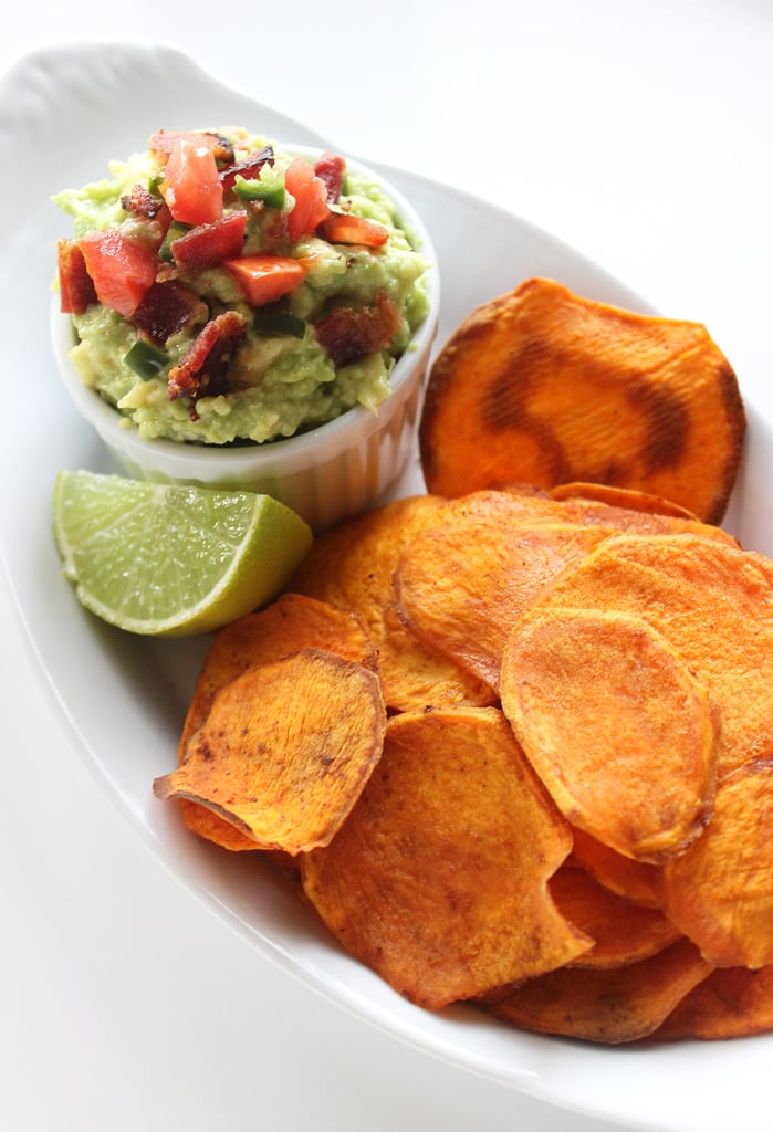 how to cook sweet potato chips healthy
