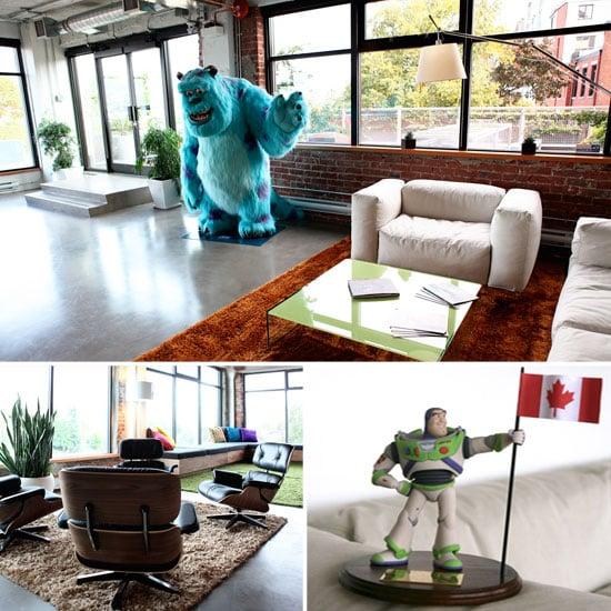 Pixar Canada Office Pictures