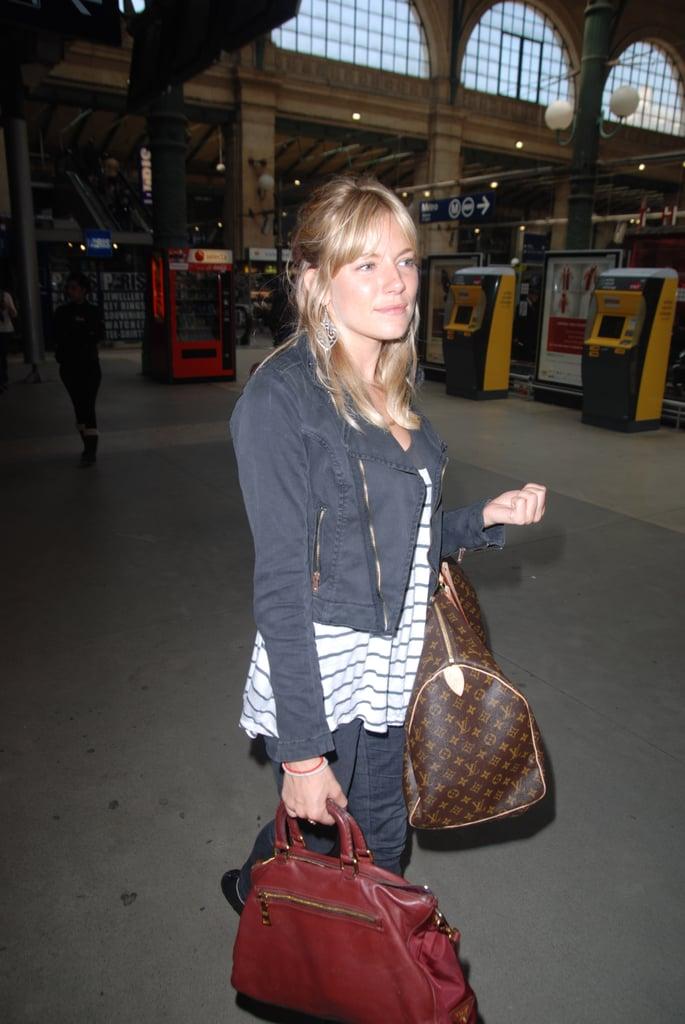 Pictures of Sienna Miller in Paris