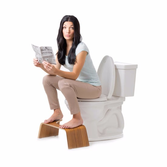 Teak Squatty Potty Stool