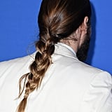 Jared Leto's Man Braid Close Up