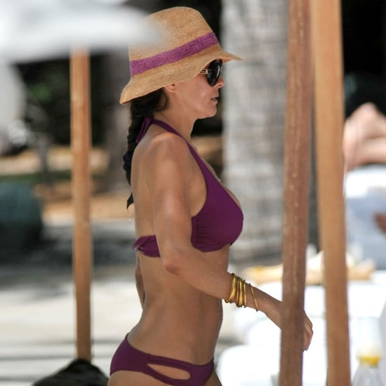 Brooke Burke Bikini Pictures in Miami