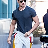 James McAvoy Looking Buff in Philadelphia 2017