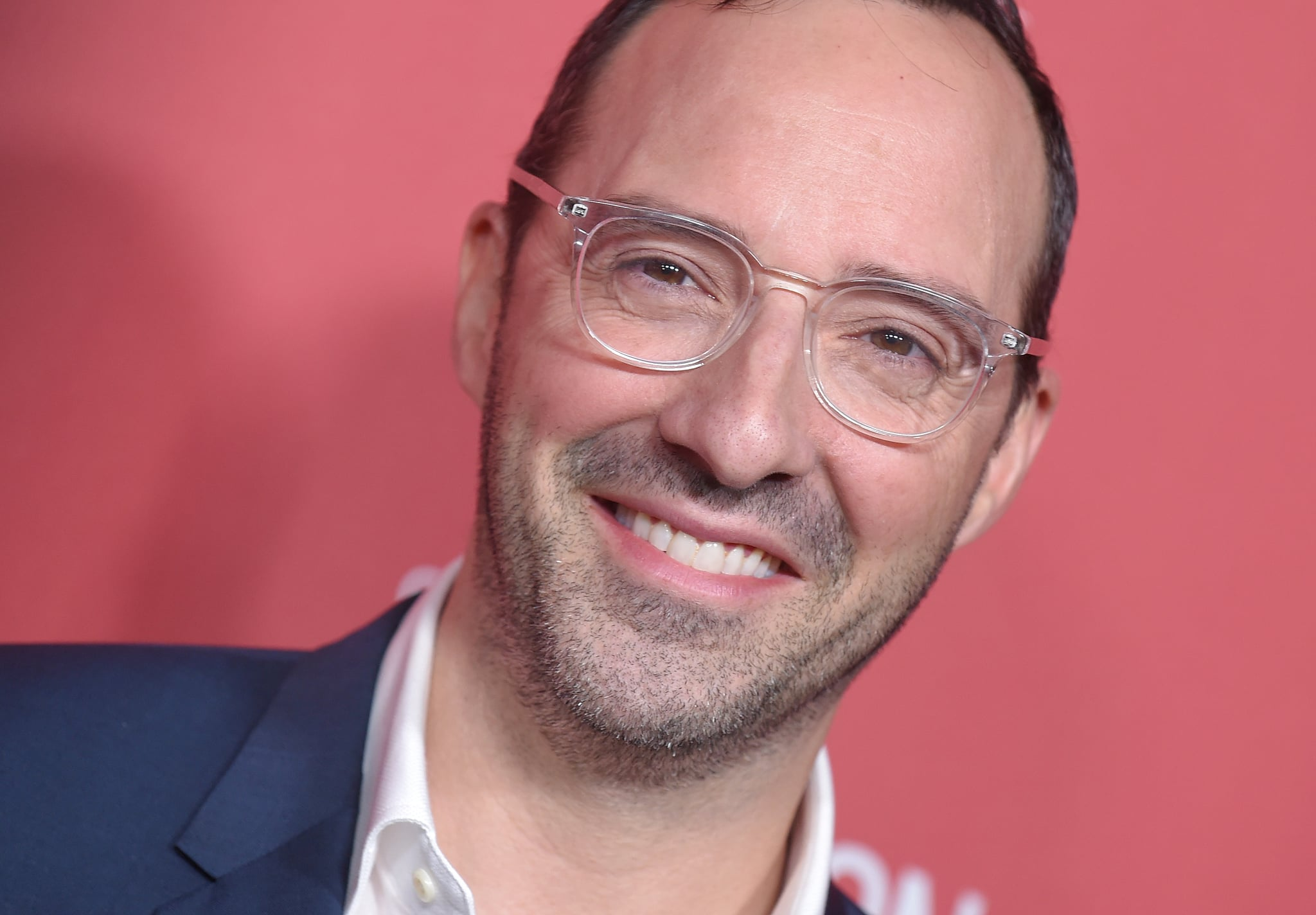 Actor Tony Hale attends the The SAG-AFTRA Foundation 3rd Patron of the Artists Awards in Los Angeles, California, on November 8, 2018. (Photo by LISA O'CONNOR / AFP)        (Photo credit should read LISA O'CONNOR/AFP/Getty Images)