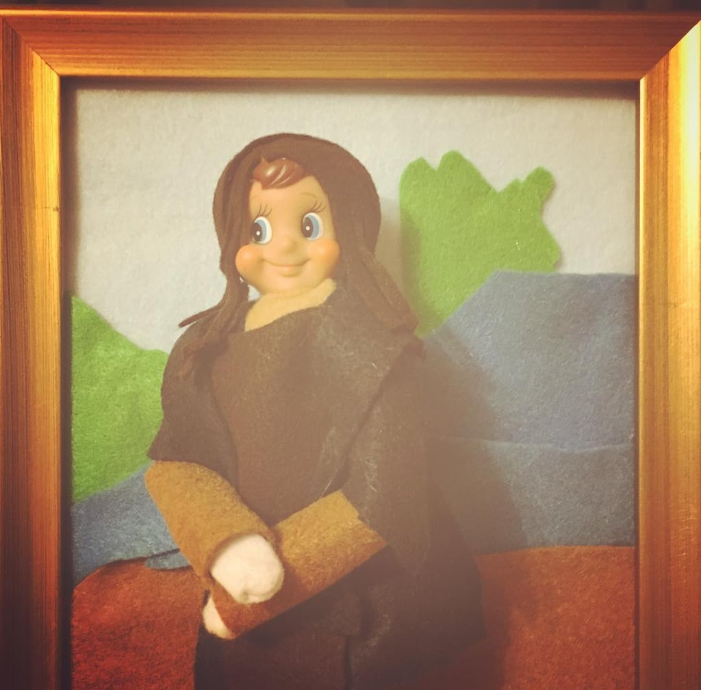 The Mona Lisa Pop Culture Elf On The Shelf Ideas