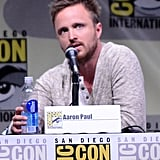 Aaron Paul talked about the final episodes of Breaking Bad.