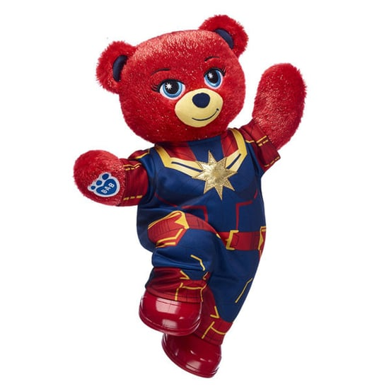 Captain Marvel Build-A-Bear March 2019