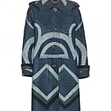Burberry Prorsum Printed Cashmere Coat ($4,895)