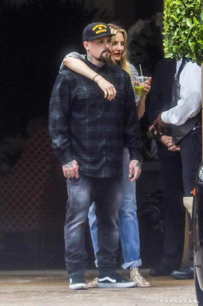 Benji Madden and Cameron Diaz Hugging in LA June 2017 ...Cameron Diaz Husband 2017