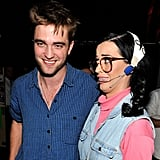 Katy Perry hosted the 2010 ceremony and geeked out taking a photo with Twilight's very sexy star, Robert Pattinson.