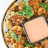Chipotle Cauliflower Jalapeño Fritters
