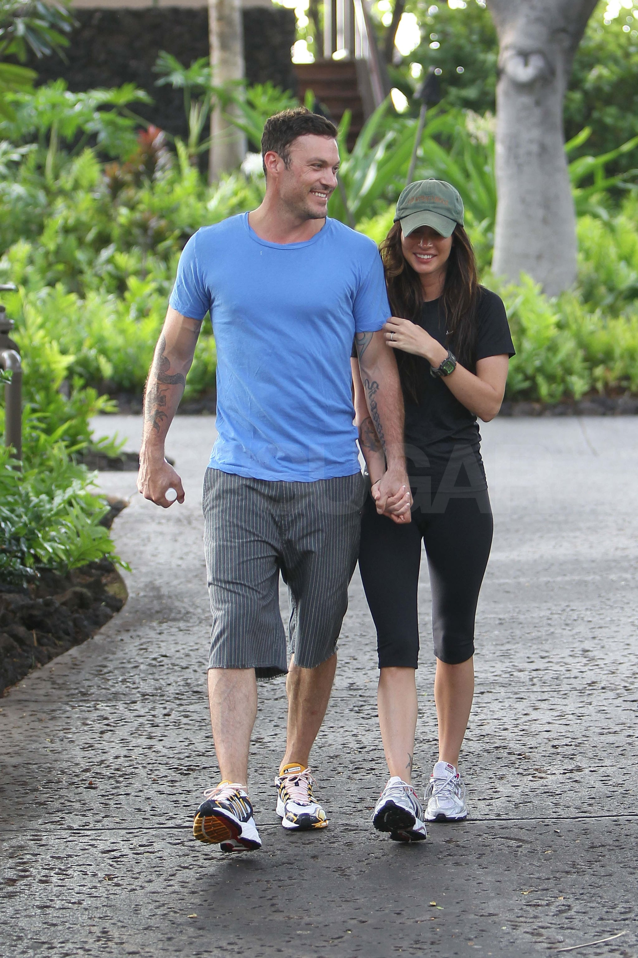 Pictures of Megan Fox and Brian Austin Greens Wedding Bands