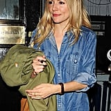 Sienna Miller Has a Fan in Jude's Ex-Wife, Sadie Frost, For Flare Path