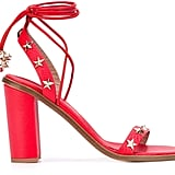 RED Valentino Star-Studded Sandals