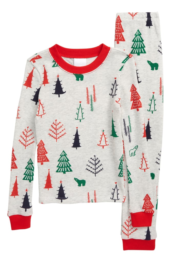Nordstrom Thermal Fitted Two-Piece Pajamas (Toddler, Little Girl & Big Girl)