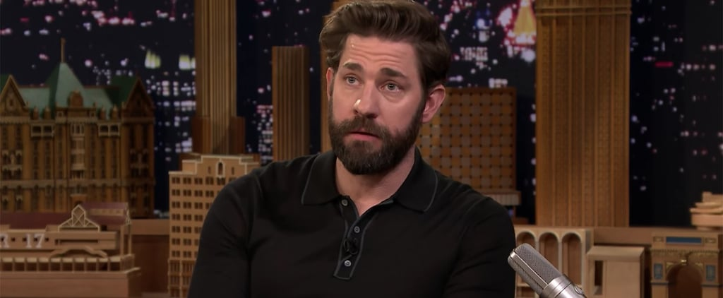 John Krasinski Quotes About Marrying Up on The Tonight Show
