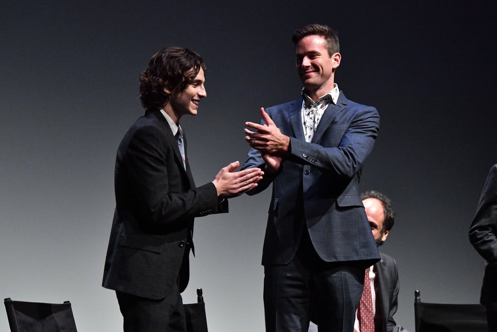 18 Times Armie Hammer and Timothée Chalamet's Friendship Was Too Pure For This World