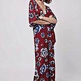 Topshop Kimono Sleeve Plunging Jumpsuit by Glamorous ($63)