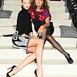 Karlie Kloss and Diane von Furstenberg