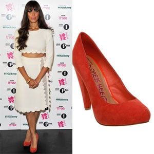 Found! Leona Lewis' Head Over Heels Shoes