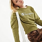 Champion UO Exclusive Boyfriend Crew Neck Sweatshirt