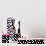 MayBaby Painted Hearts Paper Desk Accessories ($39 and free shipping)