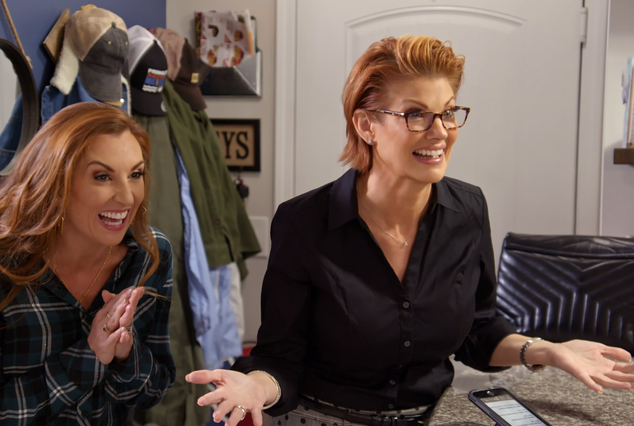 MARRIAGE OR MORTGAGE (L to R) SARAH MILLER and NICHOLE HOLMES in Episode