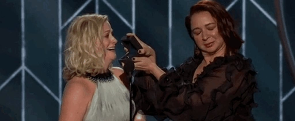 Amy Poehler and Maya Rudolph Recreating the Emmys Proposal