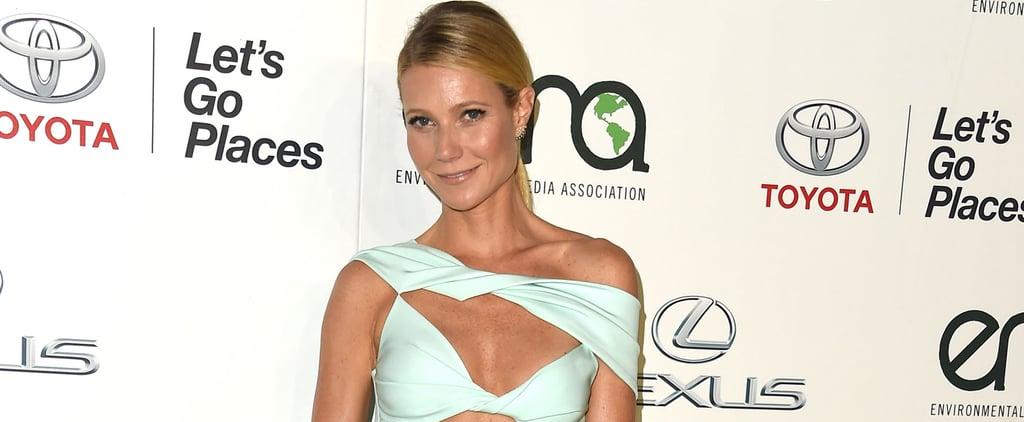 Gwyneth Paltrow in Cushnie et Ochs Cutout Dress