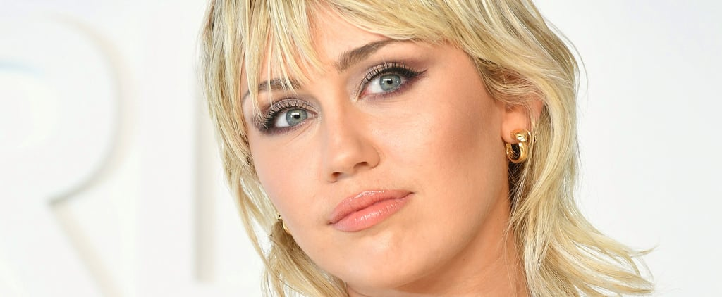 Miley Cyrus Cut Her Own Bangs In Self-Isolation
