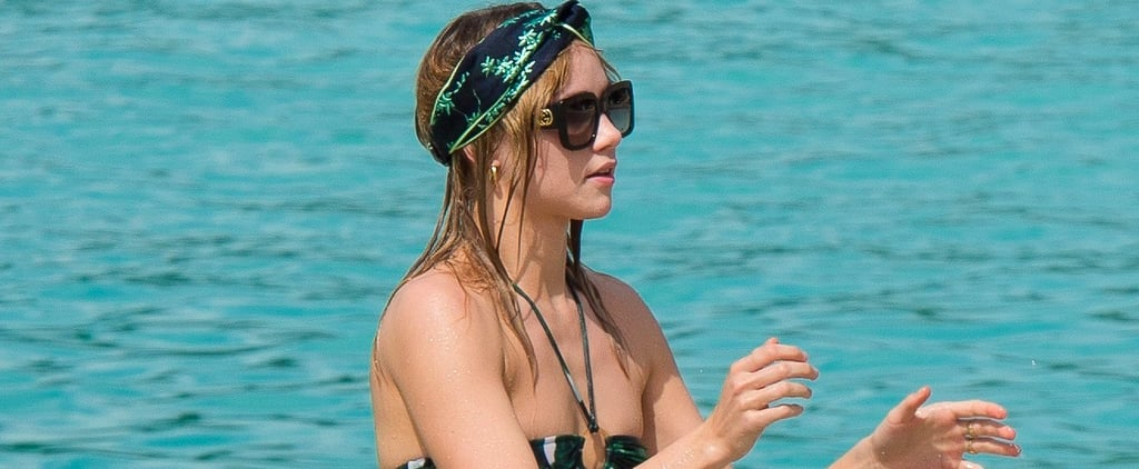 Suki Waterhouse Adriana Degreas Bikini in Barbados Dec. 2016
