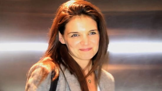 Video of Katie Holmes Commenting on Pregnant Victoria Beckham!