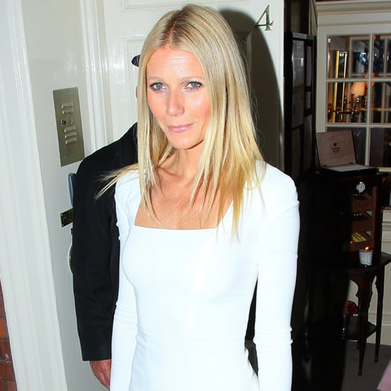 Gwyneth Paltrow Wearing White Dress