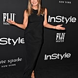 Jennifer Aniston Black Dress InStyle Awards 2018