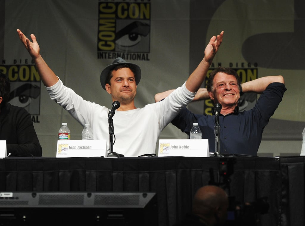 All the Stars at Comic-Con!