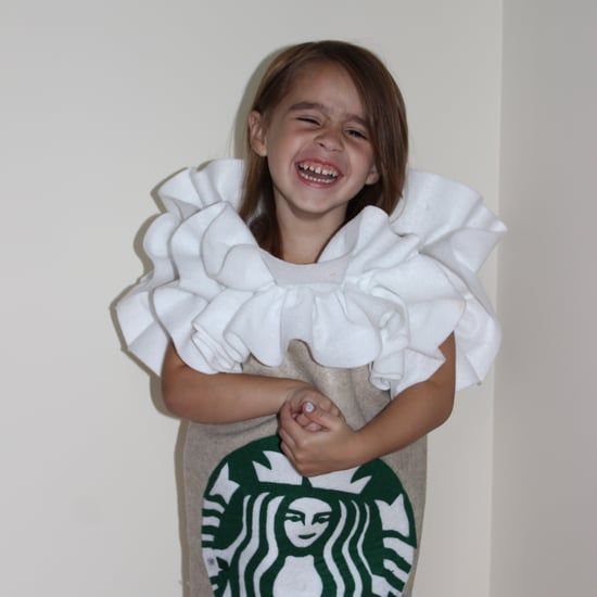 DIY Starbucks Frappuccino Costume For Kids