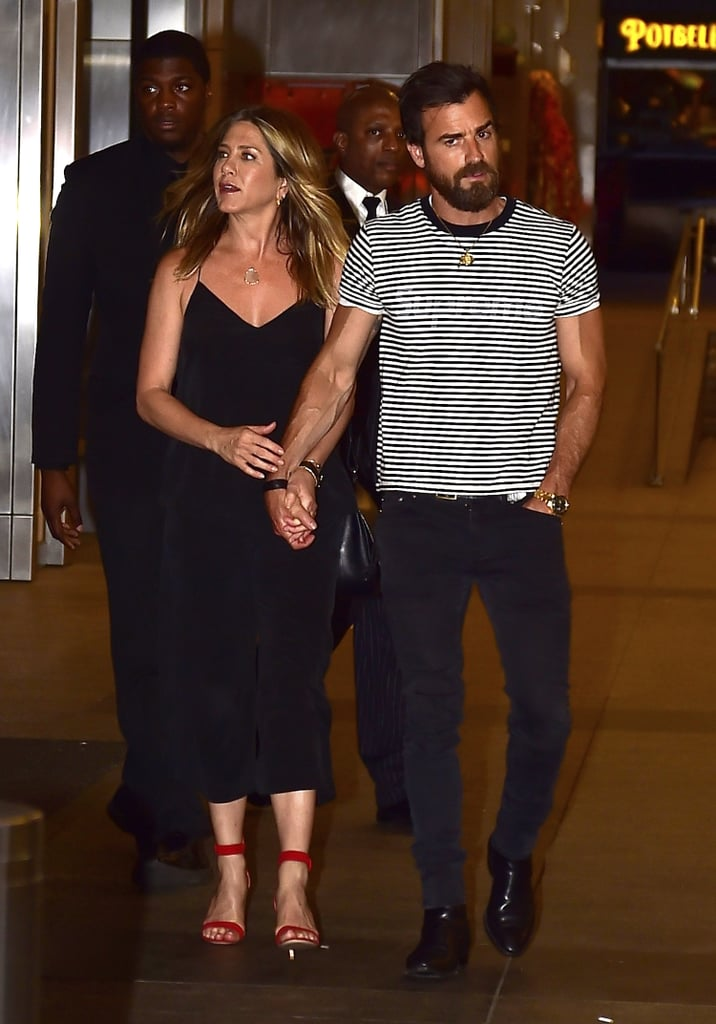 Jennifer Aniston Has a Smart Trick to Stay Cool For the Summer on Date Night
